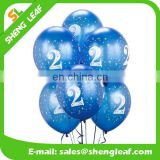 Printing latex balloon wholesales cheap non transparent latex balloons
