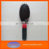 Compact oval brush