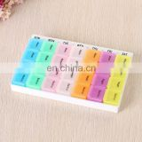28 Case Pill Box Logo Customzied Plastic Medicine Container