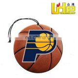 Indiana Pacers basketball NBA teams paper air freshener vanilla aroma perfume