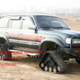 SUV pickup truck track conversion system