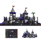 Outdoor and Indoor kindergarten playground facility