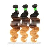 Product 3T Ombre Loose Wave Hair Weave 5A-7A 100% Unprocessed Virgin Brazilian Human Hair Extension
