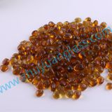 Shandong zhuyuan export recycle glass bead intermix 1-3mm3-6mm6-9mm amber aggregates glass bead