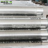 Factory Gravel packed stainless steel wire wrap filter screen