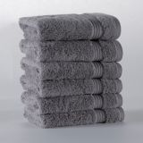 Eliya White whole sale towels for hotels+european roman embroidered cotton white towel hotel