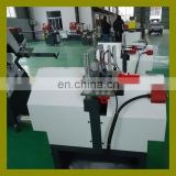 Plastic PVC UPVC door window making machine for glass glazing bead profile cutting