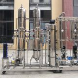 GMP SS RO+EDI Ultrapure Water System with Pasteurization for Pharmaceutical Industry