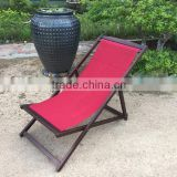 Special DESIGNER deck chair - indoor outdoor PU greywash relax chair - vietnam outdoor furniture products