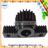 changzhou machinery Differential Spur gear Parts/ Steel Small Pinion tactical gear reduction gear for wiper motor gear