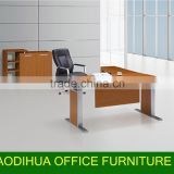 2015# Different colour for creative office furniture desk/metal office desk with drawer KF-A01