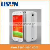 "cheapest 3g android dual sim mobile phone with dual-core 1.0 GHz 4.0"" touch screen FM WIFI"