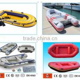 Hot selling inflatable fishing paddle boat 2 people use inflatable drifting boat for sale