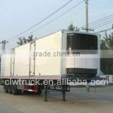 2015 factory supply clw Big capacity refrigerated box semi-trailer
