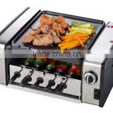 Home use hot dog rollers for barbeque electric grill &low price electrict grill