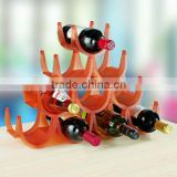 10 pcs Plastic Wine Storage Racks Wholesale Plastic Durable Standing Wine Rack Round Wine Rack