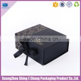 Customized gift box luxury hair extension packaging box, wig packaging box with magnetic