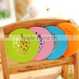 2015 new arrival home decoration strawberry shape coaster 16G JCH-004