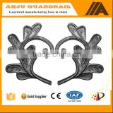 AJFP-02 water-proof cast iron decorative flowers and leaves