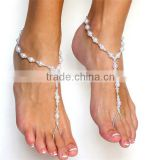 2016 Fashion Pearl Beaded Anklet Jewelry