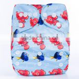 New Arrival Cartoon Character One Size Adjustable Cheapest Baby Love Nappies