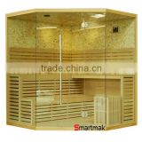 5-6 person luxury finland steam sauna house, traditional steam sauna cabin,home steam sauna room