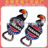 Double sided Soft PVC 3D promotional beer bottle openers