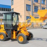 1600kg articulated mini wheel loader with ce / 1.6ton small loader with wood grapple / ZL16 compact wheel loader / ZL916 loader