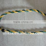 2012 Hot selling Tornado braided rope necklace
