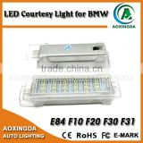 LED Courtesy Light F01 F20 F30 white & red led license lamp kits canbus free error long life