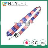 beautiful heat transfer lanyard for world cup