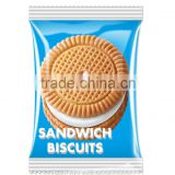 Milk sandwich biscuits