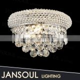 zhongshan chic hot new beautiful colorful compound hotel corridor top crystal chandelier ball string wall lighting