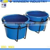 Good Quality Double Bucket Holder Flower Pot Holder for Wire Fencing YS38079