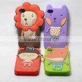 Apple iphone brand compatible,silicone material faceplate cover silicone i phone 5 cover specially for lovers