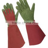 Women long sleeve gardening glove, Mechanic gloves, safety glove, impact protection glove, China