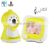 3.5 inch home wireless chinese camera surveillance with the function of digital baby monitor