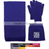 Manufacturer Knitted Winter Scarf, Beanie And Touchscreen Gloves Set