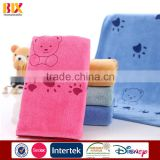 2015 Hot Sale cheap promotional products china cartoon Characters printed microfiber bath towels