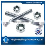 High quality Ningbo Weifeng Fastener products,bolts,screws,washers,nuts,anchors hilti anchor bolt