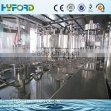 Factory produce carbonated drink filling production line 3 in 1