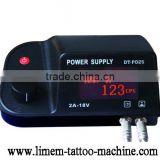 2013 Professional Factory Direct Selling tattoo Dual LED Power Supply switching power supply