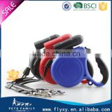 Excellent quality OEM blue retractable dog leashes