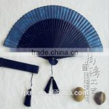 Japanese folding fan painted silk Zhushan bamboo pastoral style folding WDF006 buy the first flowers fade