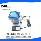 12V 18650/lipo dc rechargeable battery pack 6.8A/10A/20A/30A for LED strip/panel&Camera/IP Camera