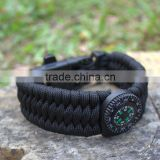 DIHAO survival fire starter,survival kit bracelet buckle,emergency survival kit for survival paracord bracelet