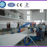 EPE (pearl cotton) foamed sheet extrusion