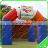 Commercial design new hot selling inflatable arch tent for advertising use