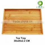 Bamboo wooden Coffee warming service Tray