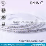 12v or 24v IP65 UV-resistant PU glue potted rgb 5050 led strip light with DC connector